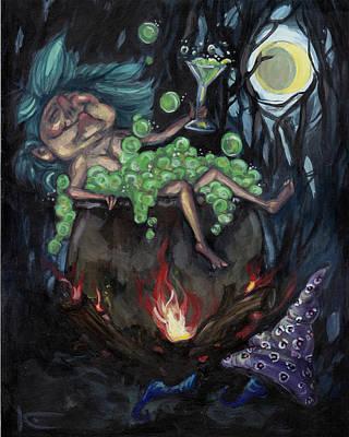 Witch's Brew Print by Kim Marshall