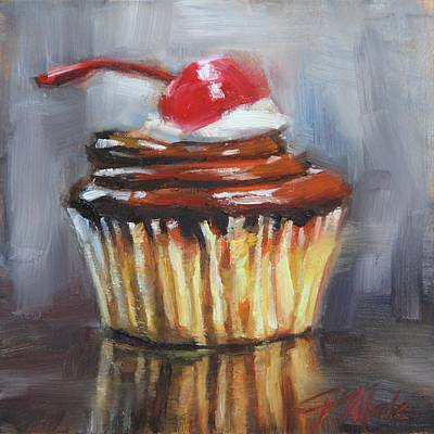 Painting - With A Cherry On Top by Tracy Male