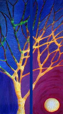 Painting - With All The Dying Trees I Scream by Desiree Soule