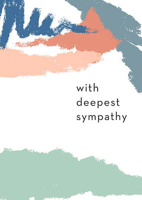 Mixed Media - With Deepest Sympathy- By Linda Woods by Linda Woods