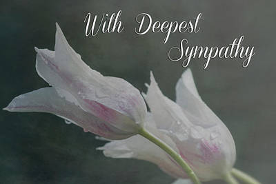 With Deepest Sympathy Art Print