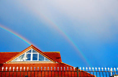 Photograph - With Double Bless Of Rainbow by Jenny Rainbow
