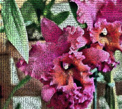 Digital Art - With Elegance Appears A Jungle by Mindy Newman