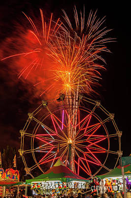 Photograph - With Ferris Wheel And Gam by Jim Corwin