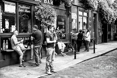 Photograph - With Friends In Dublin by John Rizzuto