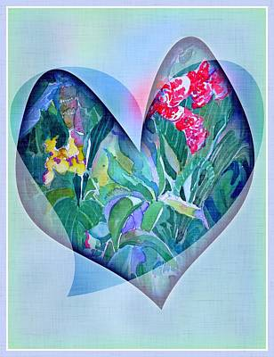 Joy Mixed Media - With Love by Mindy Newman