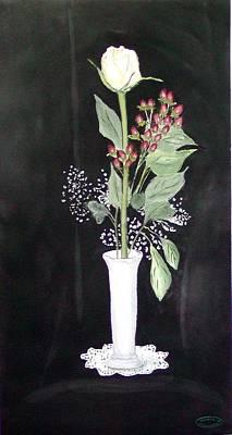 With Love Art Print by Sharon Steinhaus