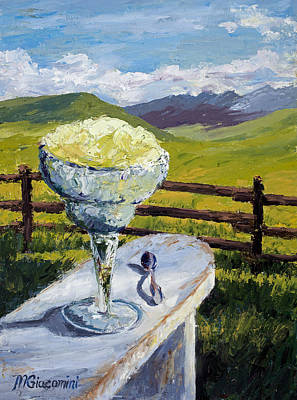 Painting - With Salt by Mary Giacomini