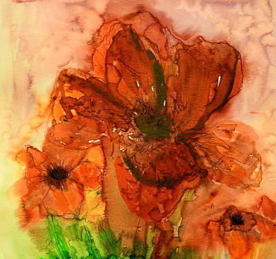 Mixed Media - With Teary Eyes by Betty-Anne McDonald