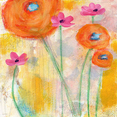 Royalty-Free and Rights-Managed Images - With The Breeze- Art by Linda Woods by Linda Woods