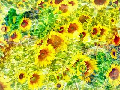 Digital Art - With The Sun On Your Face by Dorothy Berry-Lound
