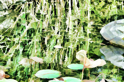 Withered Lotus In The Pond 3 Art Print