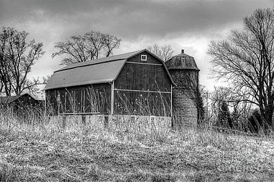 Photograph - Withered Old Barn by Deborah Klubertanz