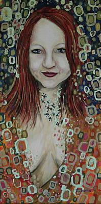 Self-portrait Mixed Media - Within Desire - Original by Jeni Reynolds