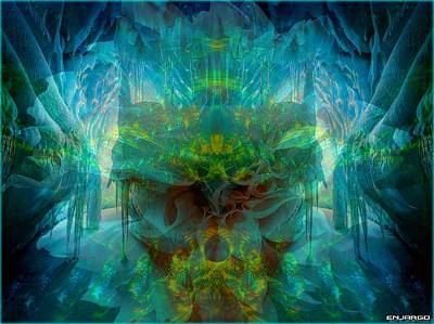 Within. Art Print by Enjargo Art