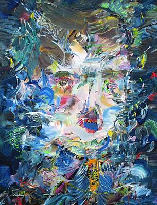 Painting - Within My Mortal Bounds by Fabrizio Cassetta