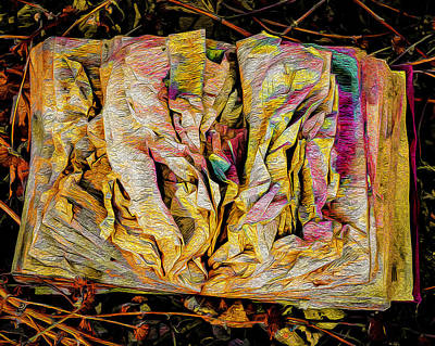 Painting - Within Pages Of Gold by Michael Gross