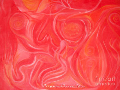 Within The Heart Art Print by Sacred  Muse