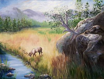 Painting - Within Yellowstone by Sharon Casavant