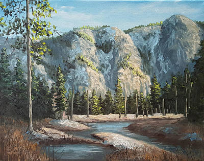 Painting - Within Yosemite by Sharon Casavant