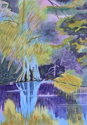 Steampunk - Withlacoochee Reflections by Warren Thompson