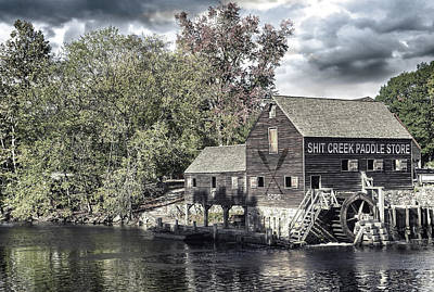 Shit Wall Art - Photograph - Without A Paddle by Mal Bray