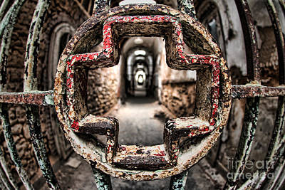 Dilapidated Photograph - Without Salvation by Andrew Paranavitana