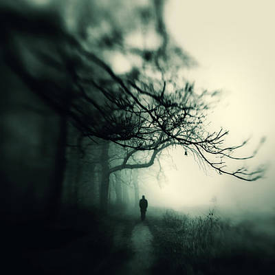 Creepy Photograph - Without You by Art of Invi