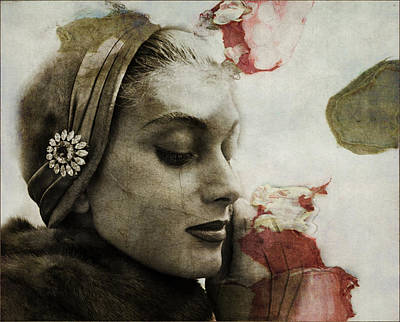 Woman Mixed Media - Without You  by Paul Lovering