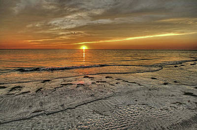 Photograph - Witness - Florida Sunset by HH Photography of Florida