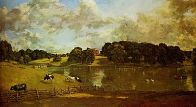 Painting - Wivenhoe Park 1816 by Constable John