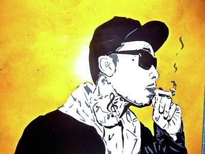 Wiz Khalifa Painting - Wiz by Freddy Koke