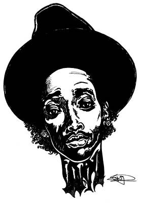 Hiphop Painting - WIZ by SKIP Smith