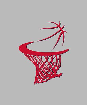 Wizards Basketball Hoop Art Print