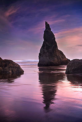 Wizard Photograph - Wizard's Hat At Sunset by Andrew Soundarajan