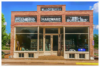 Photograph - Wj Doran Plumbing And Hardware by Trey Foerster