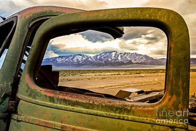 Photograph - Wndow View by Robert Bales