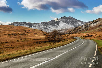 Photograph - Wnter Scenery Snowdonia by Adrian Evans