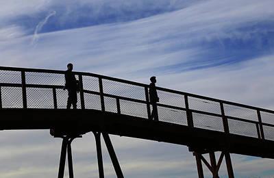 Pastel - Two On A Bridge by Nareeta Martin