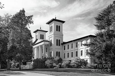 Photograph - Wofford College Main Building by University Icons