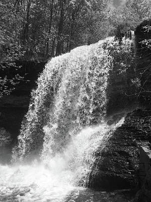 Photograph - Wolcott Falls by Marvin Borst