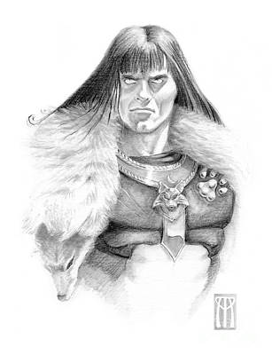 Wolf Barbarian Original