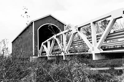 Photograph - Wolf Covered Bridge 4 by Ben Graham