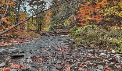 Wolf Creek At Letchworth State Park, Ny Art Print