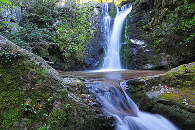 Wolf Creek Falls Original by Alan Lenk