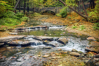 Photograph - Wolf Creek Falls Letchworth Park by Karen Jorstad