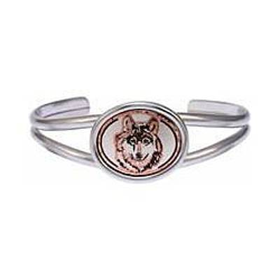 Wolf Head Copper Bracelet Original