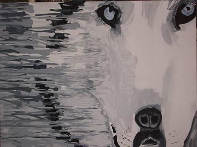 Wolf Mother Art Print by Samuel Freedman