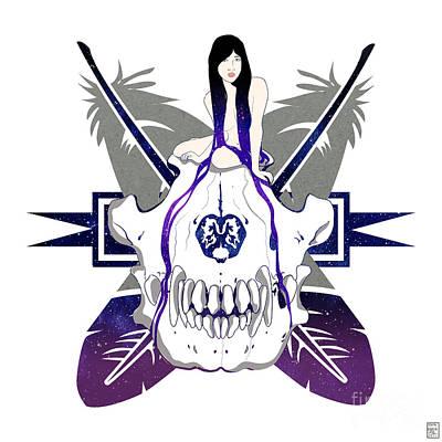 Wolf Spirit Art Print