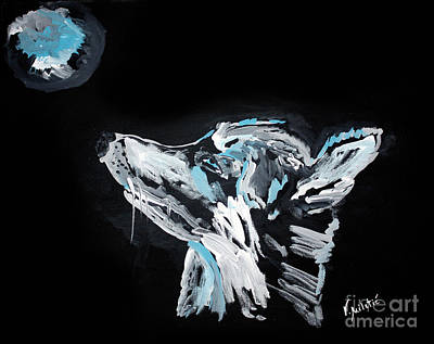 Wolves Painting - Wolfdog -  Animal Art By Valentina Miletic by Valentina Miletic